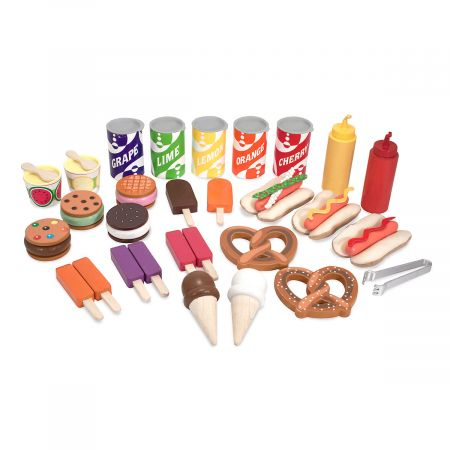Snacks and Sweets Food Cart by Melissa & Doug®