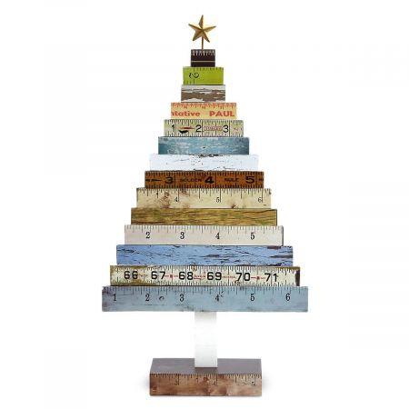 Wooden Ruler Tree