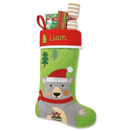Bear Personalized Christmas Stocking by Stephen Joseph®