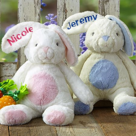 Pink Personalized My First Bunny