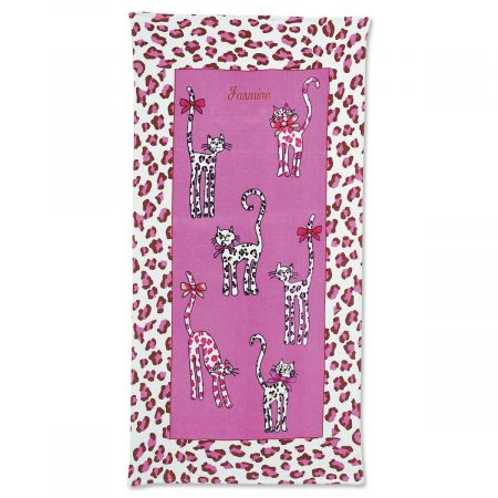 Leopard Cats Towel