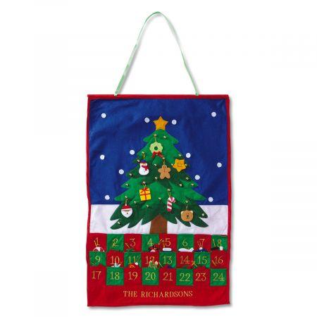 Christmas Tree Countdown Calendar