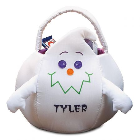 Ghost Personalized Halloween Treat Bag