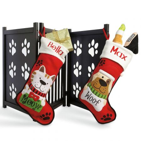 Pet Personalized Christmas Stocking