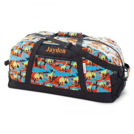 Jungle Camo Duffel Bag