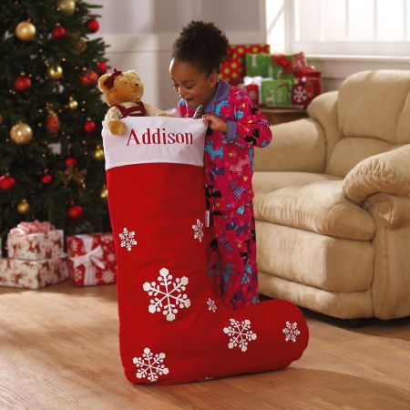 Jumbo Personalized Christmas Stocking