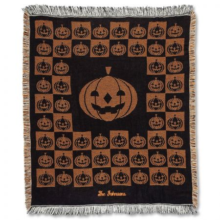 Personalized Halloween Personalized Throw