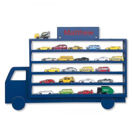 Personalized Die-Cast Cars Display Rack