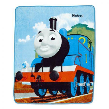 Personalized Thomas Fleece Throw