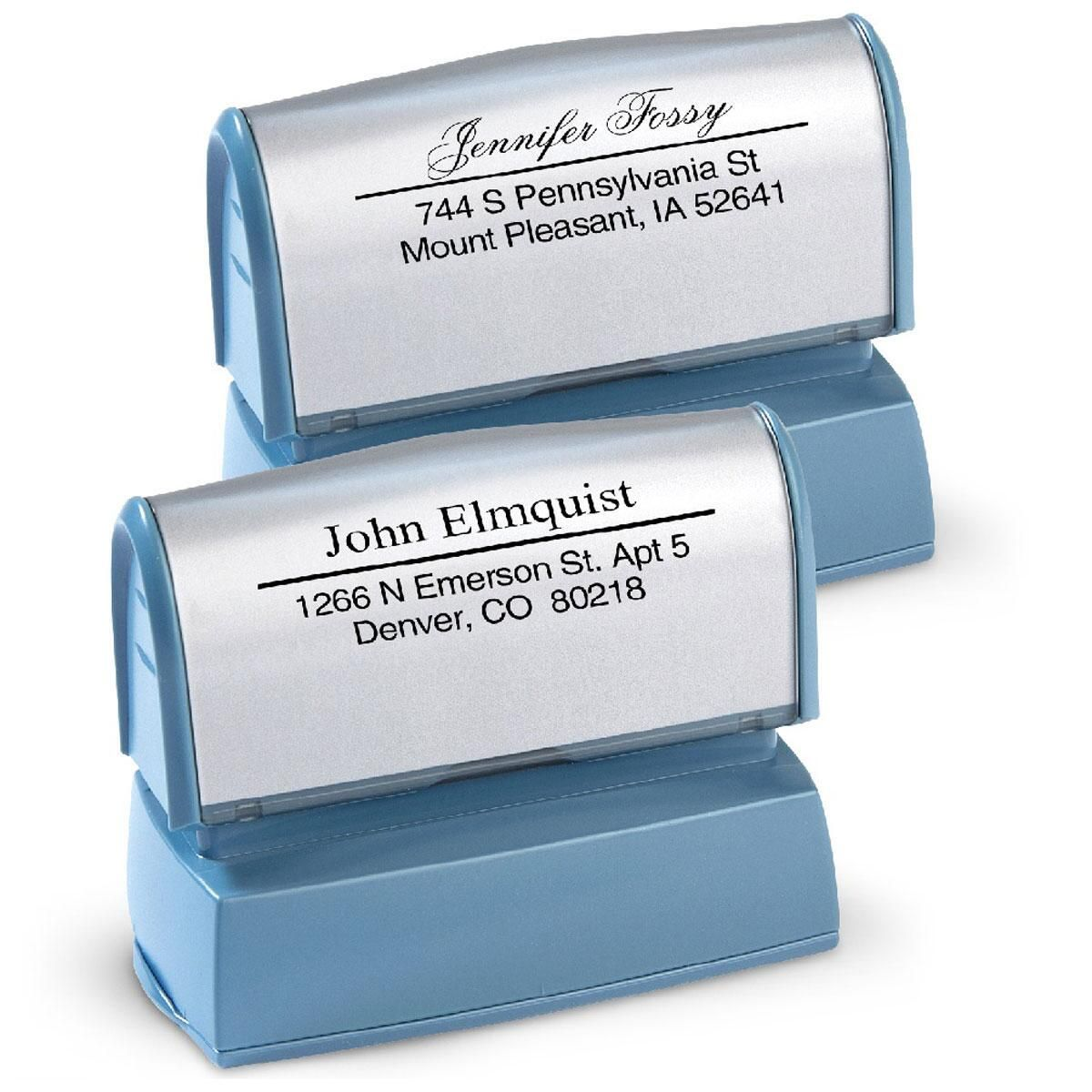 Accent Line Self-Inking Stamper
