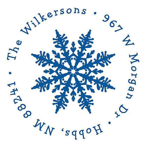 Elegant Snowflake Christmas Stamper