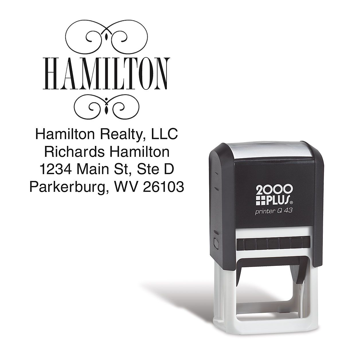 Square Name Stamper