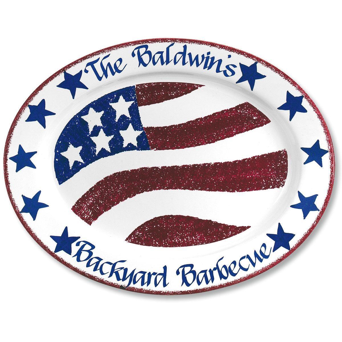 Patriotic BBQ Platter