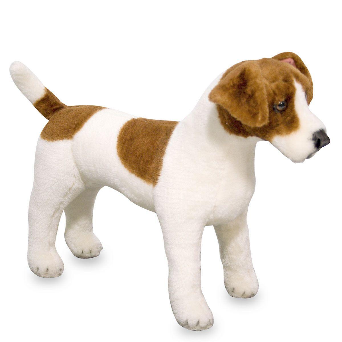 Plush Jack Russel Terrier by Melissa & Doug®
