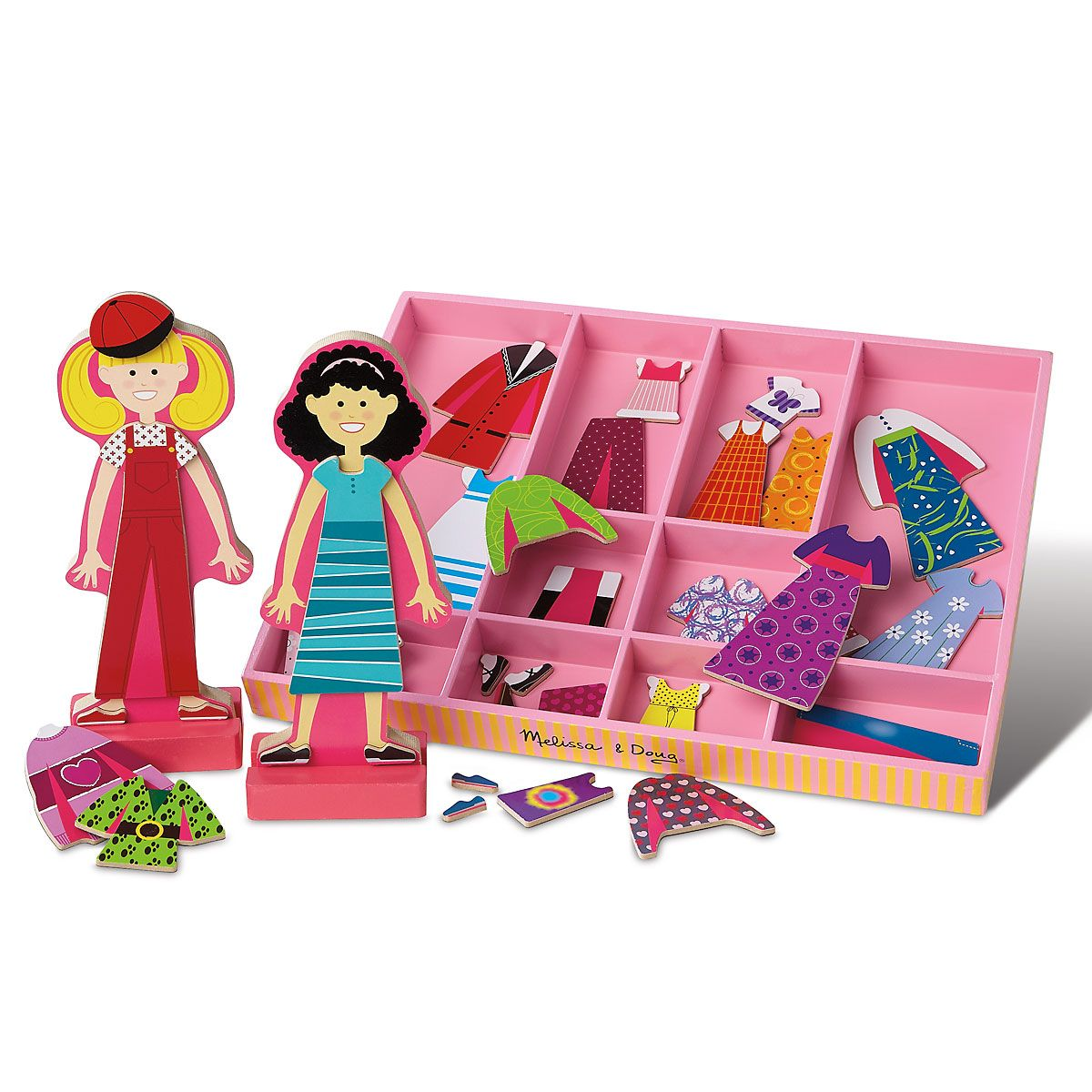 Magnetic Dress-Up Dolls by Melissa & Doug®