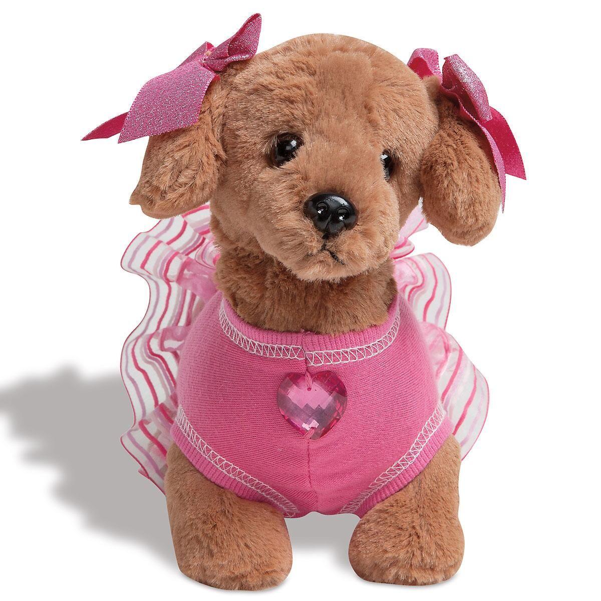 Haute Doggie Plush Dog by Bearington Collection