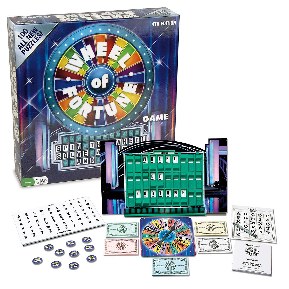 Wheel of Fortune Word Game