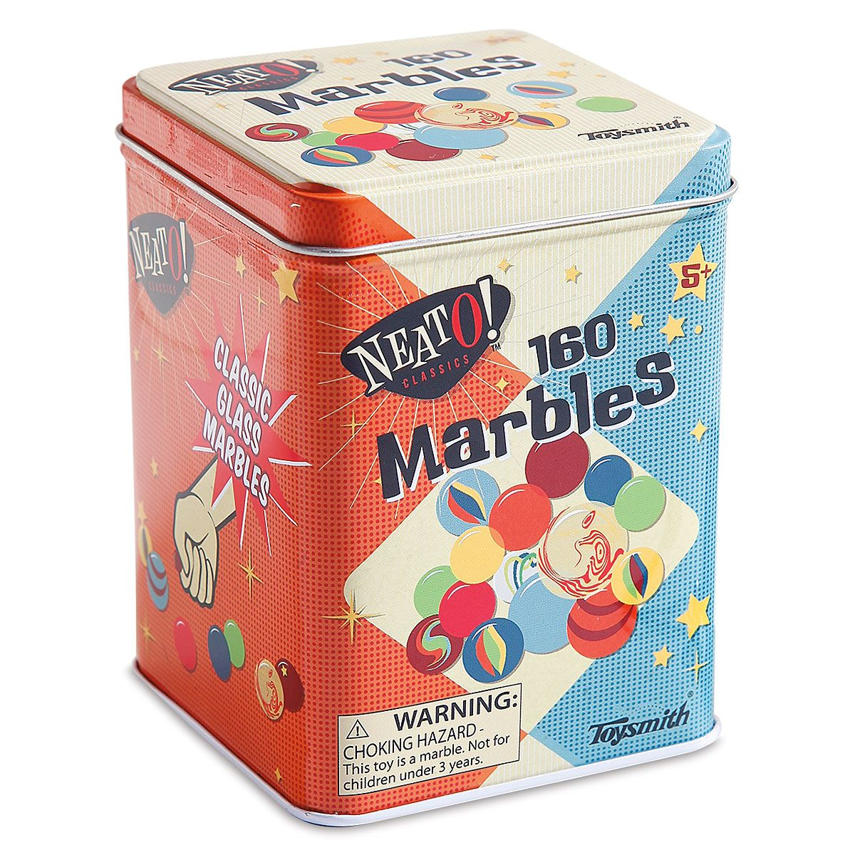 160 Marbles in a Tin
