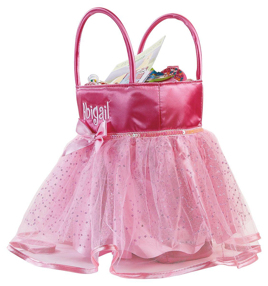 Personalized Tutu Treat Basket