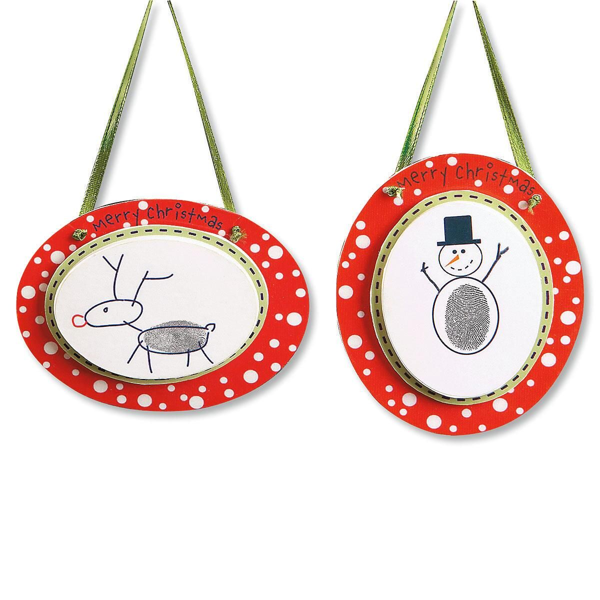 Thumbprint Ornament Craft Kit