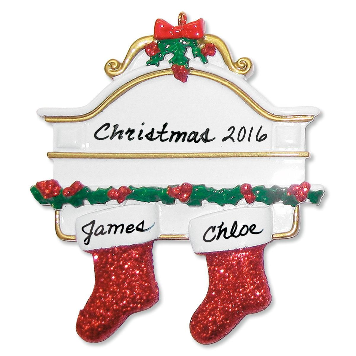 Mantel Stocking Ornaments