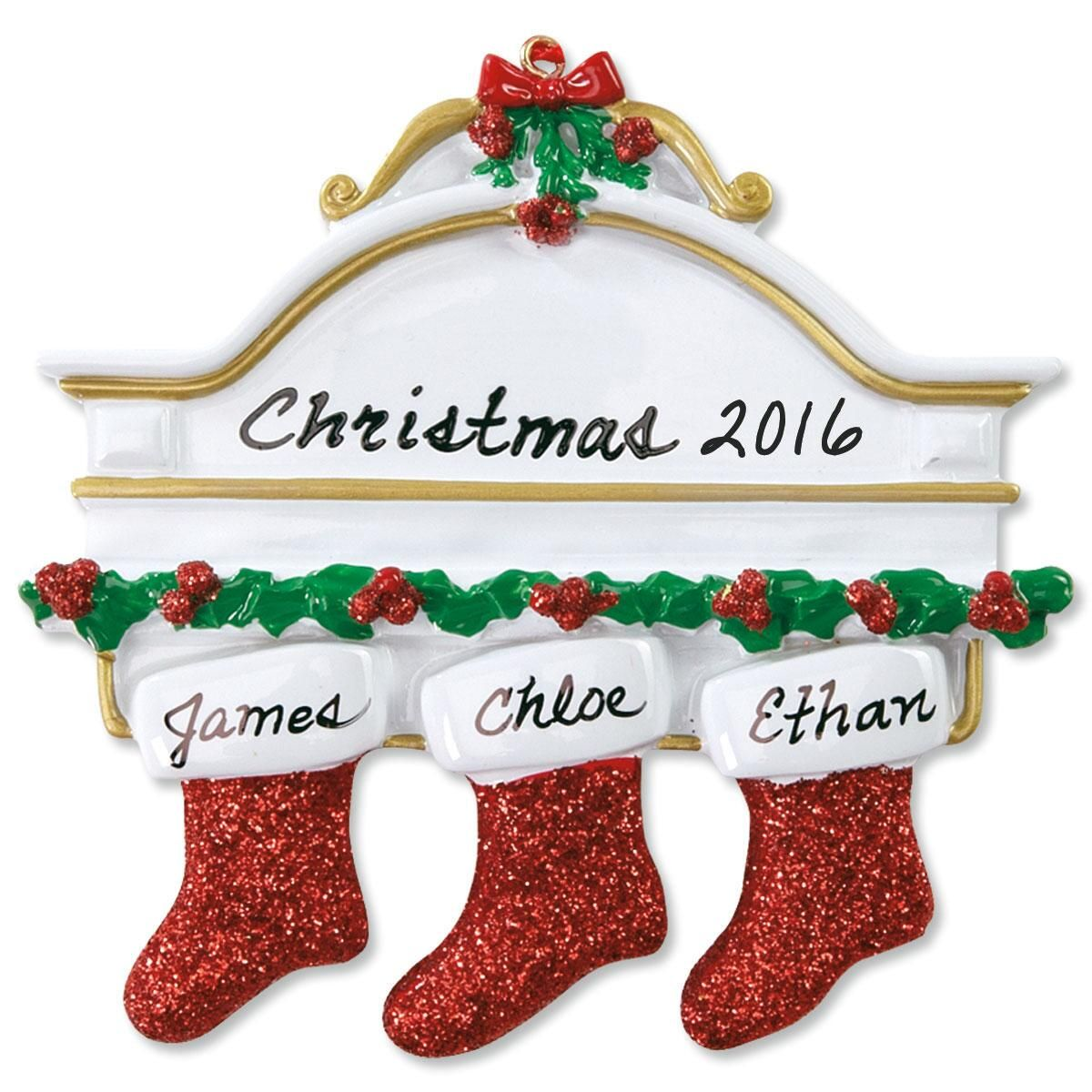 Mantel Stocking Ornaments