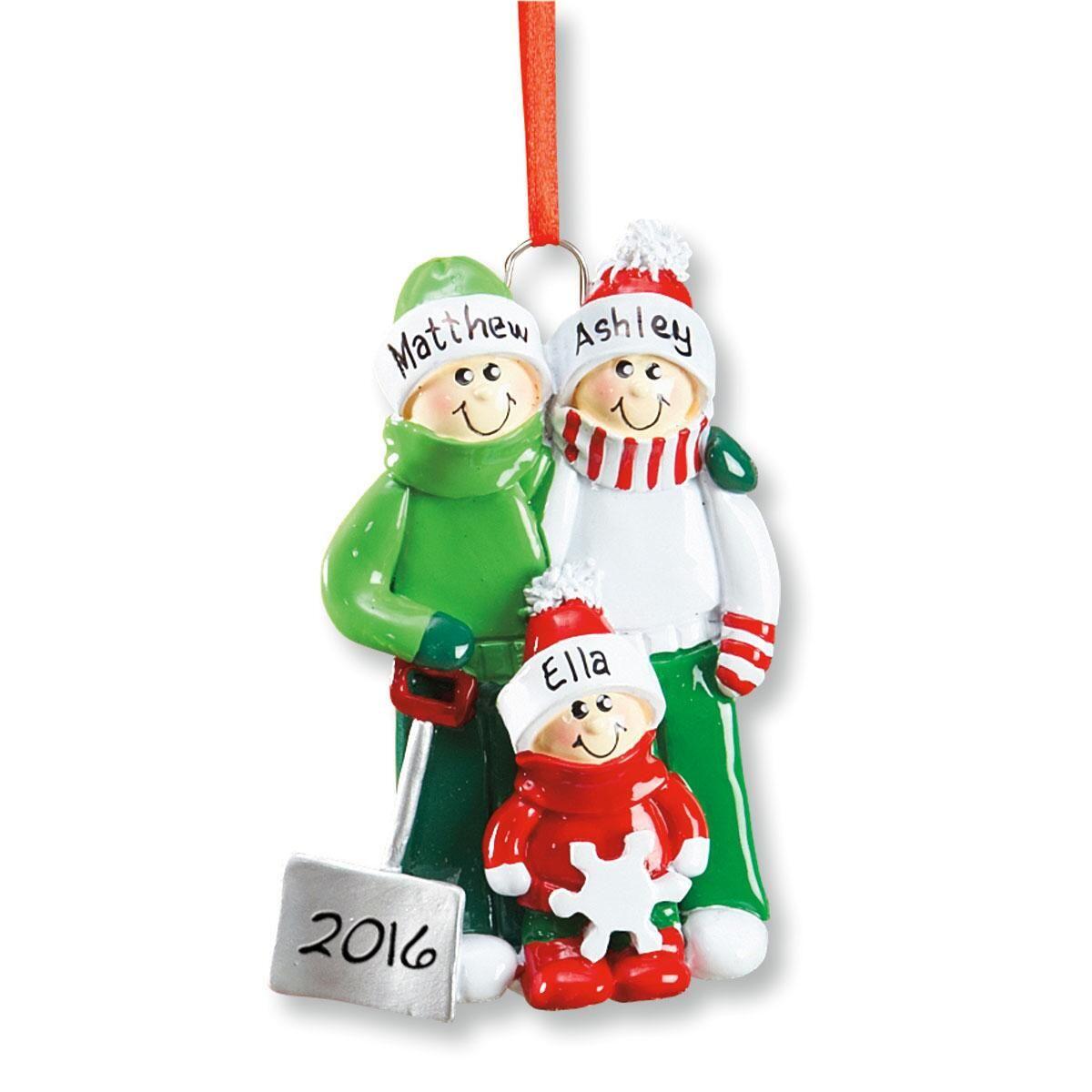 Holiday Snow Shovel Ornament