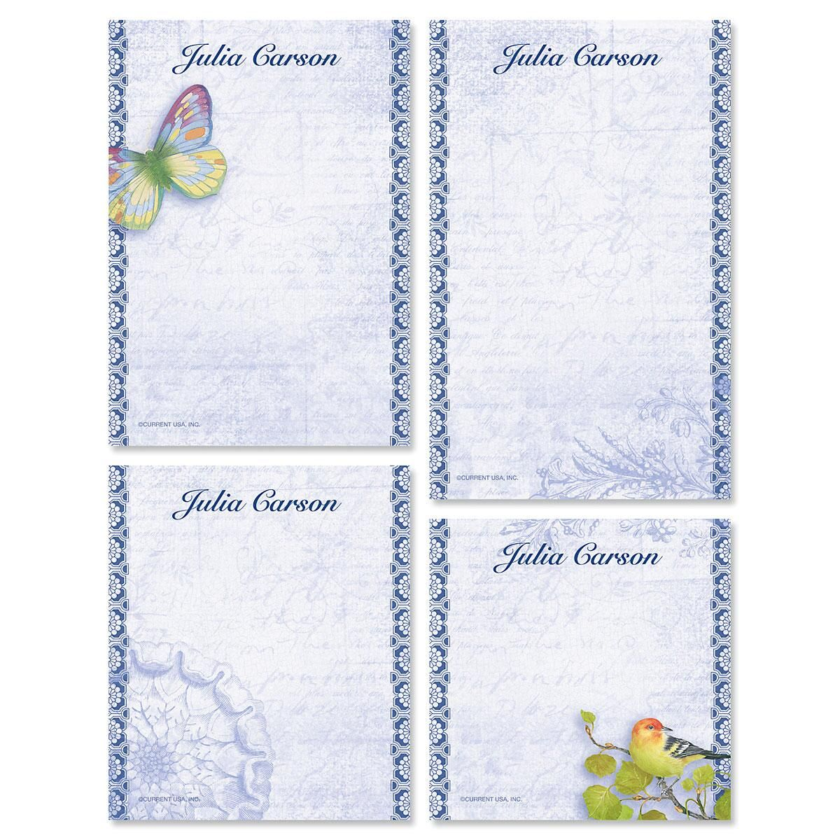 Exotic Prints Notepads