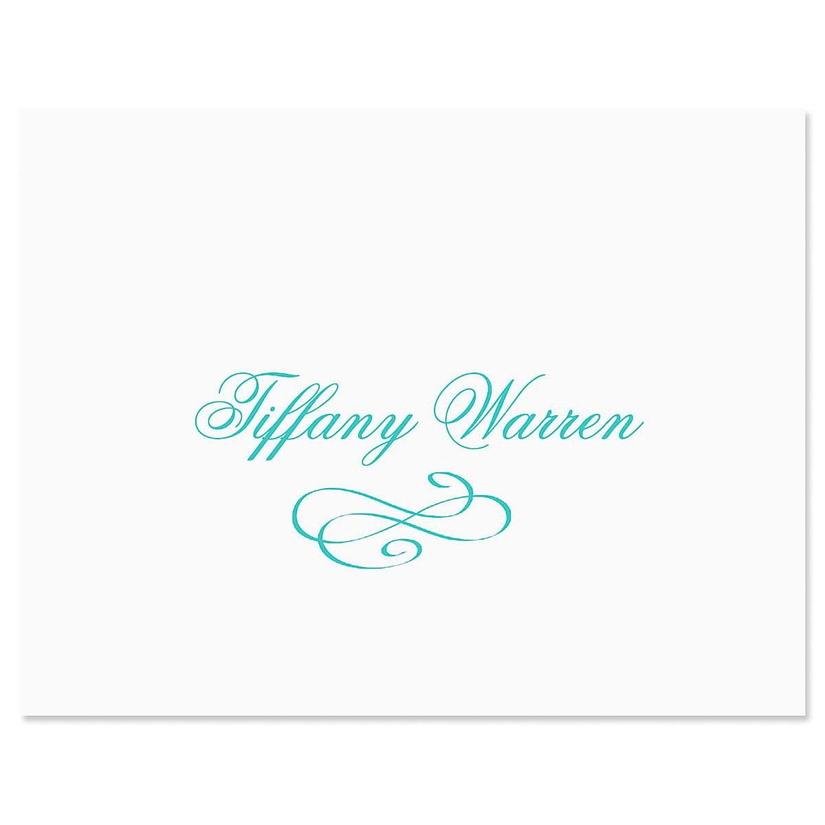 Tiffany Note Card