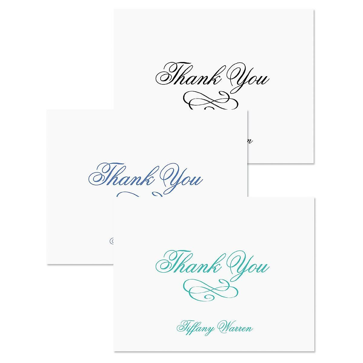 Tiffany Thank You Cards