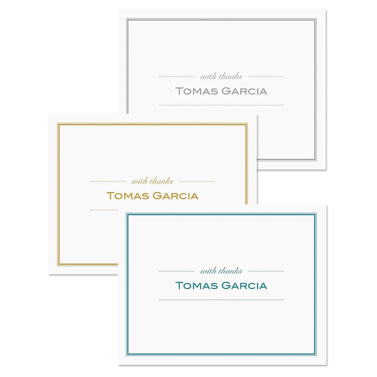 Refined Thank You Cards