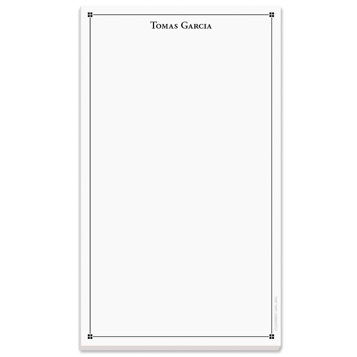 Atticus Notepad-Black-609314A