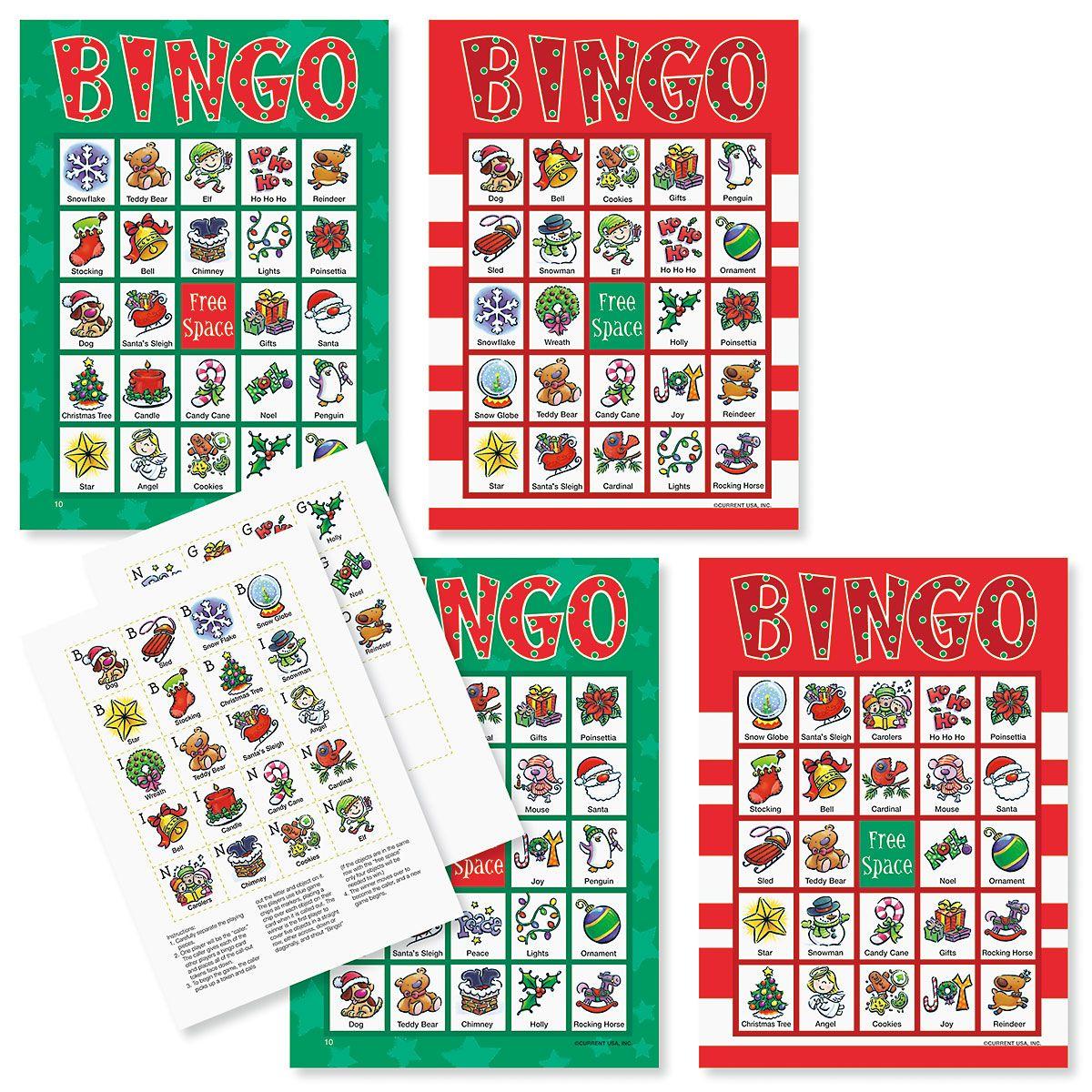 Bingo Christmas Game