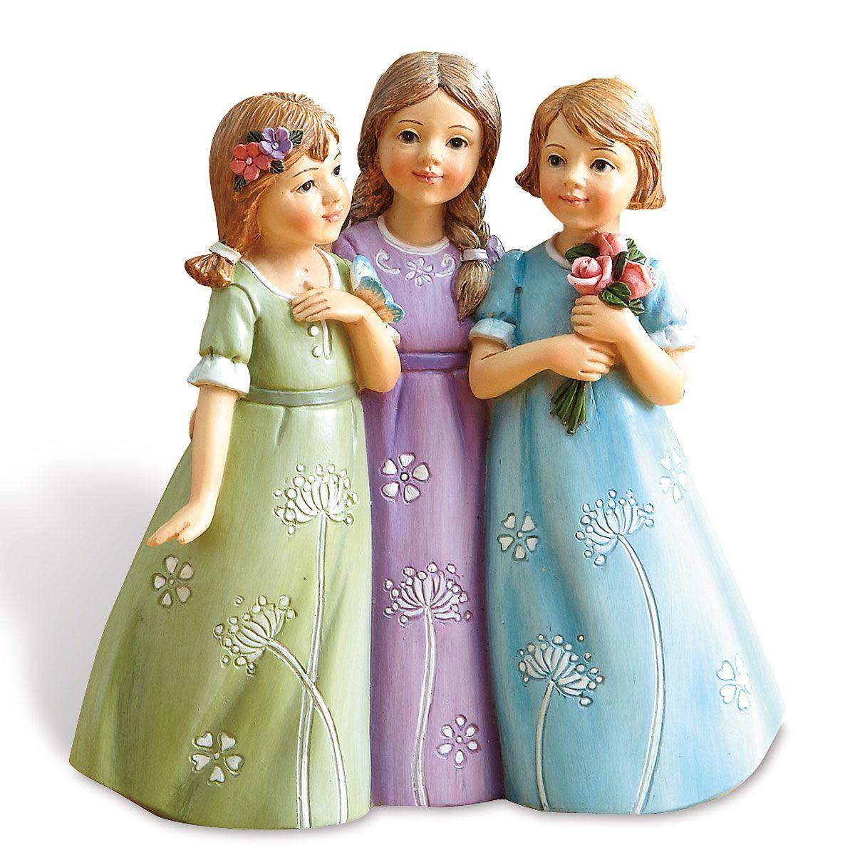 Three Sisters Figurine