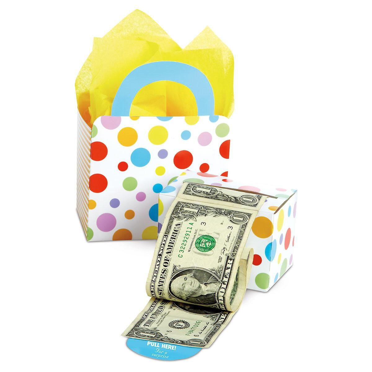 Designer Money Dispenser & Gift Bag