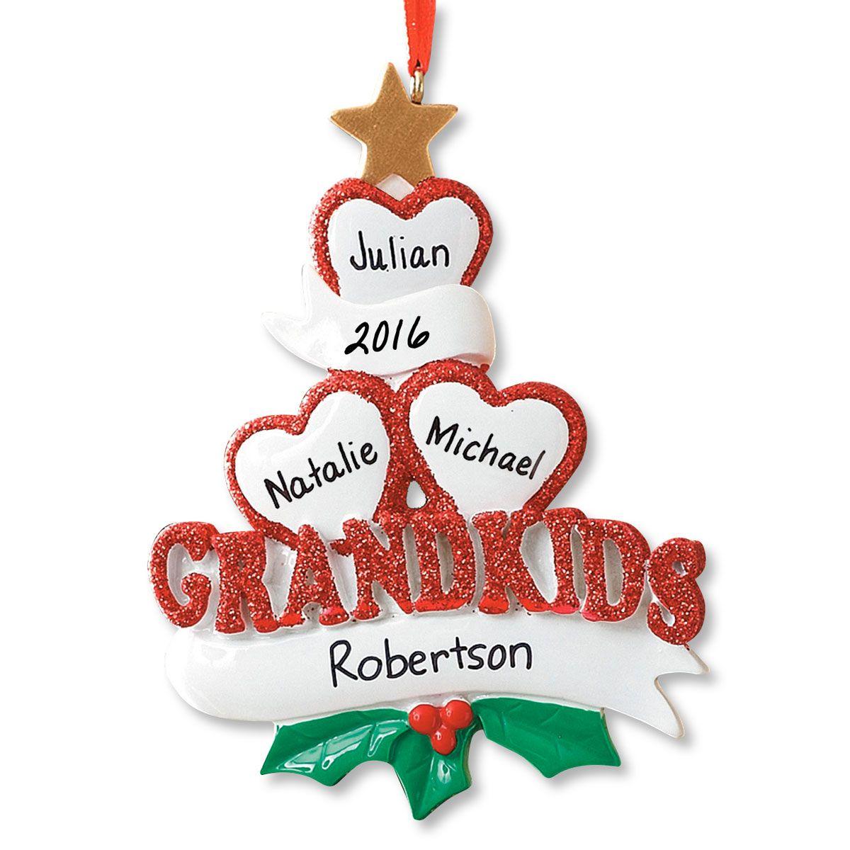 Grandkids Ornament