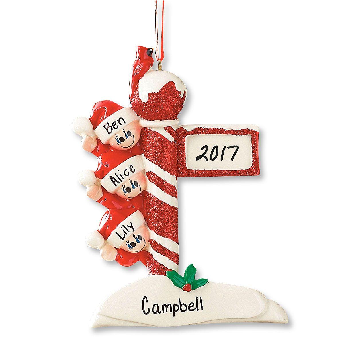 Lamp Post Ornament