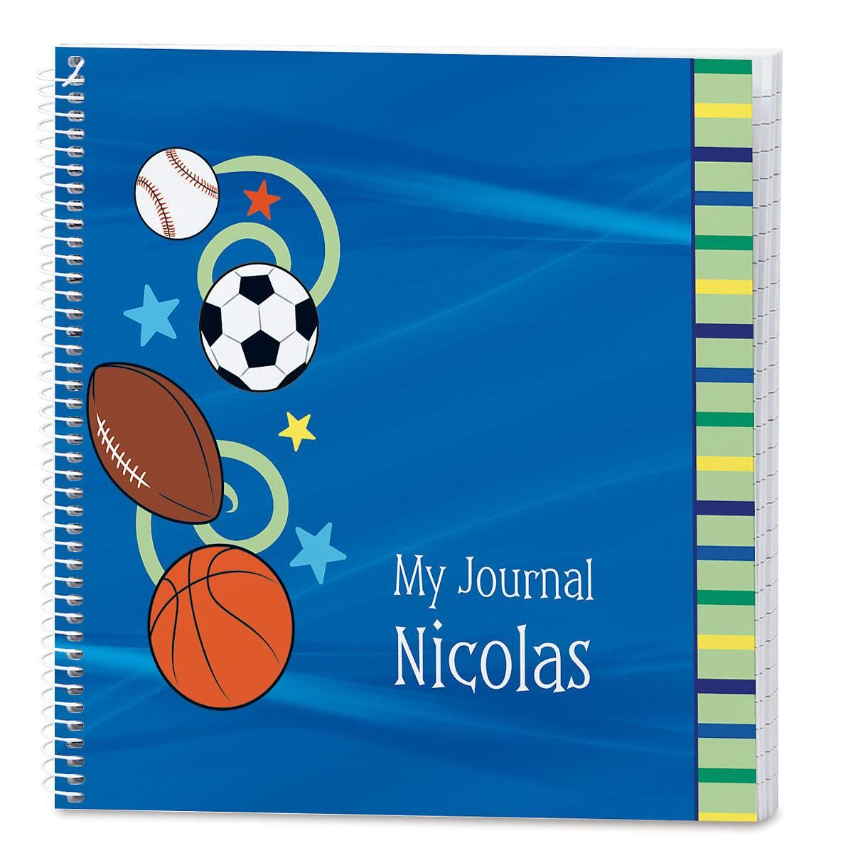 Sports Balls Lined Journal