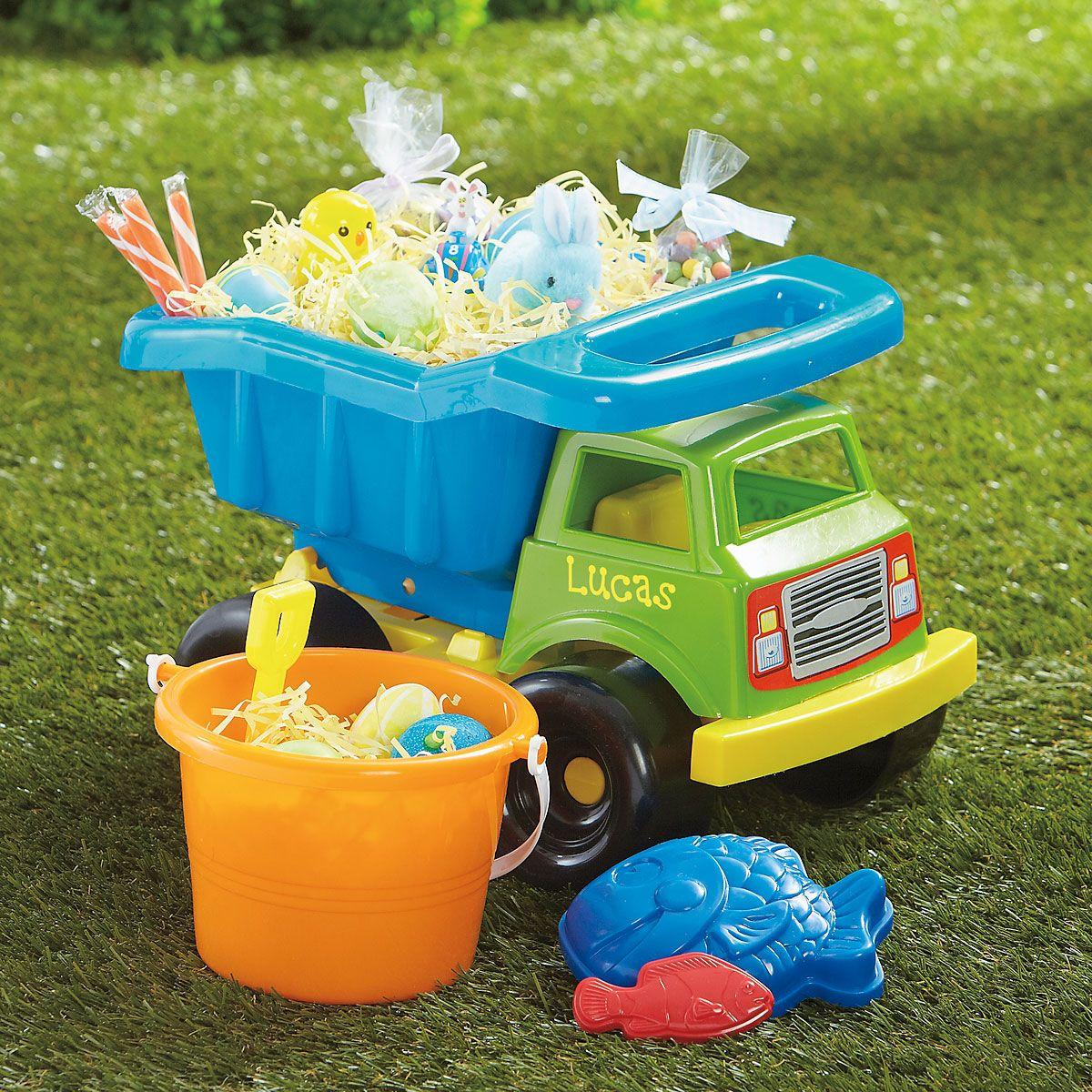 Personalized Plastic Dump Truck