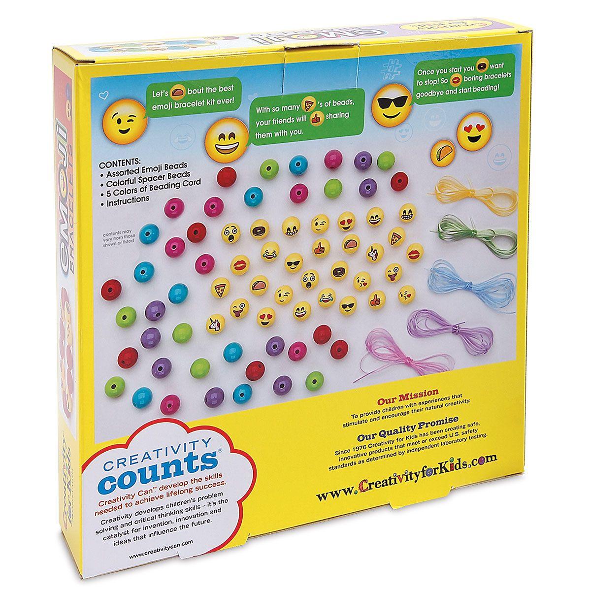 Emoji Bracelets Kit