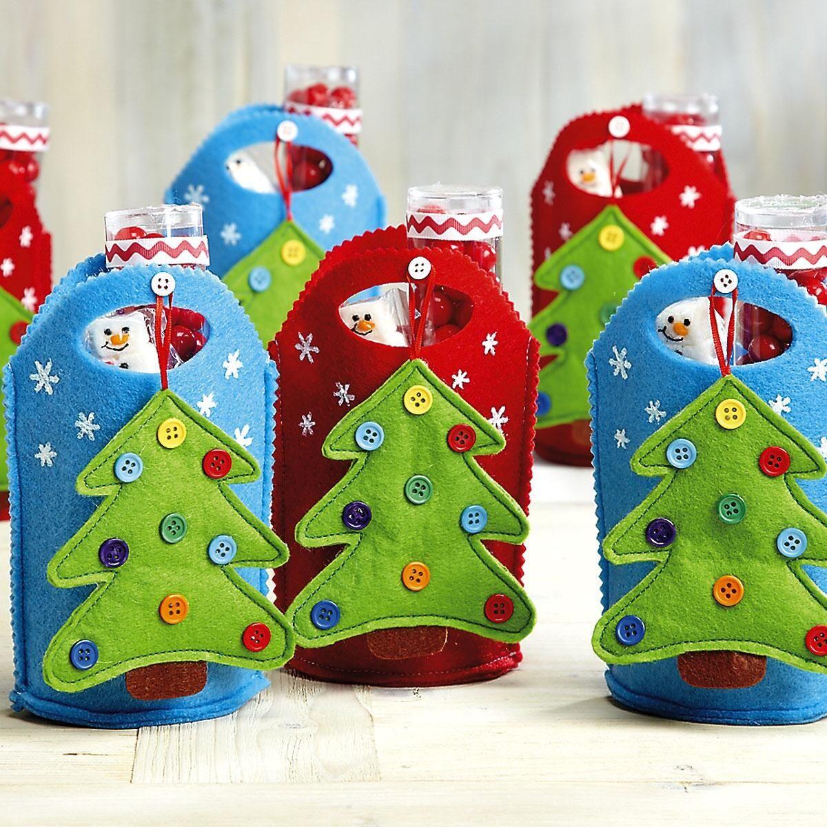 Tree Ornament Treat Bags
