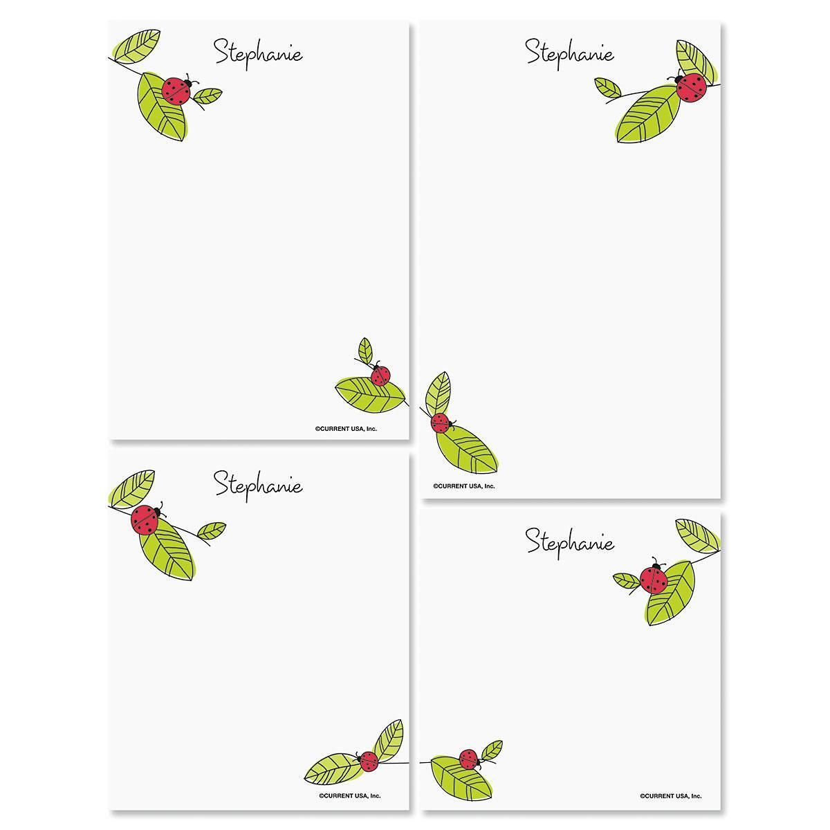 Ladybugs Notepads