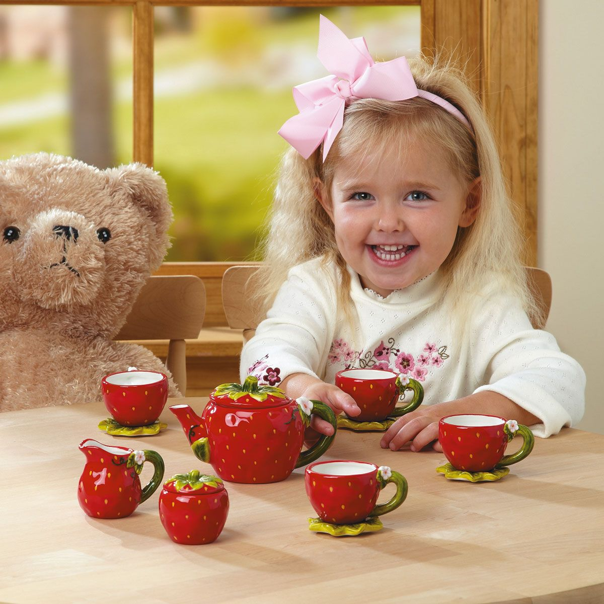 Strawberry Tea Set