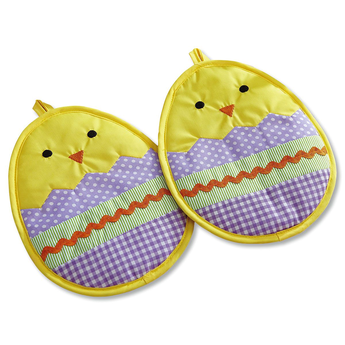 Chick in Egg Hot Pads