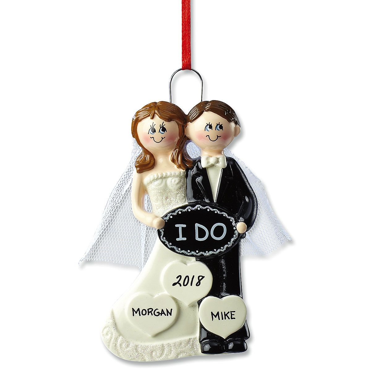 I Do Wedding Personalized Ornaments