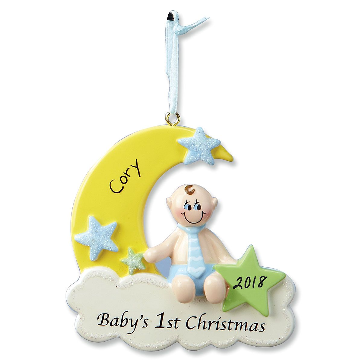Baby Boy's First Ornament