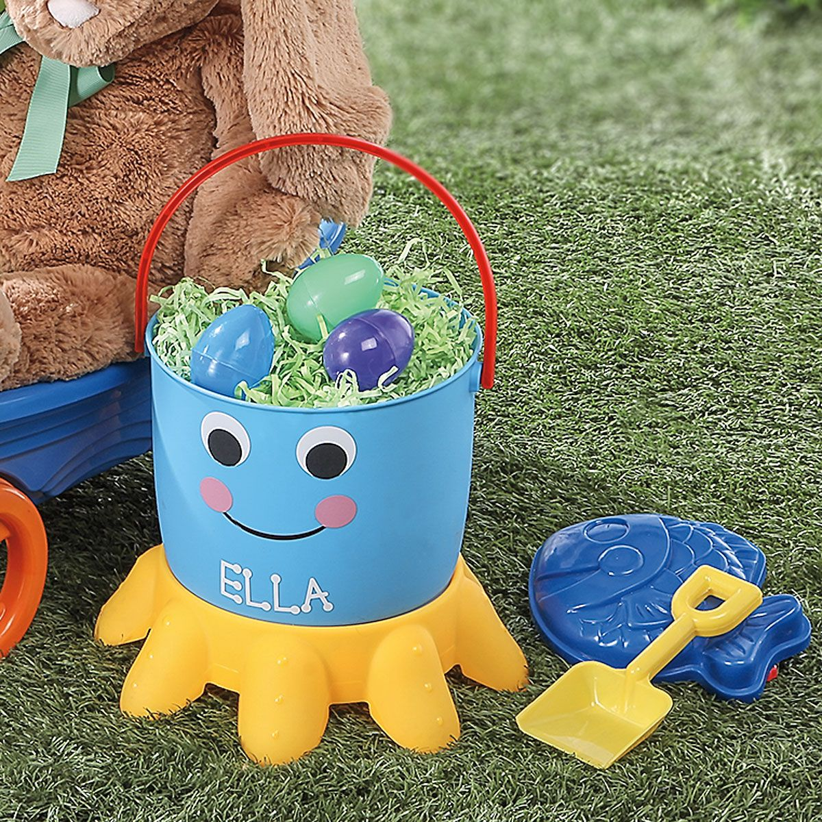 Octopus Personalized Bucket