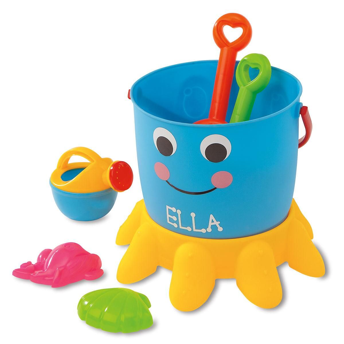 Octopus Personalized Bucket