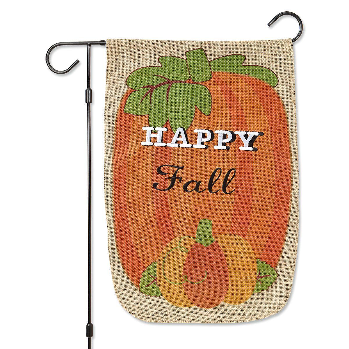 Pumpkin Garden Banner