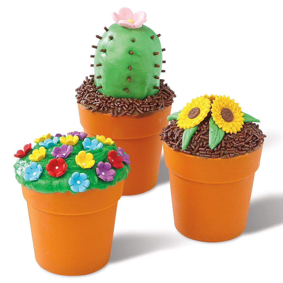 Flower Pot Baking Cups